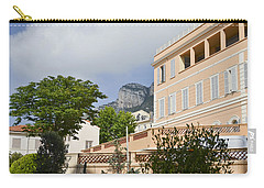 Carry-all Pouch featuring the photograph Street Of Monaco by Allen Sheffield