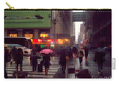 Street Scene - Seventh Avenue - New York Carry-all Pouch