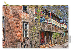 Carry-all Pouch featuring the photograph Streets Of St Augustine Florida by Olga Hamilton