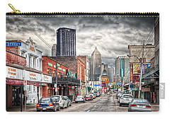 Strip District Pittsburgh Carry-all Pouch by Emmanuel Panagiotakis