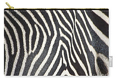 Stripes And Ripples Carry-all Pouch by Kathy McClure
