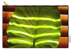Stripes Of Light Carry-all Pouch by Nina Ficur Feenan