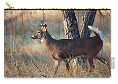 Carry-all Pouch featuring the photograph Strutting Buck by Jim Garrison