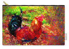 Strutting In Living Color Carry-all Pouch