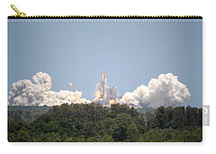 Carry-all Pouch featuring the photograph Sts-132, Space Shuttle Atlantis Launch by Science Source