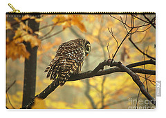 Stubborn Owl Carry-all Pouch