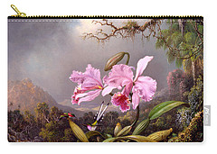 Study Of An Orchid Carry-all Pouch