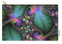 Stunning Mandelbrot Fractal Carry-all Pouch