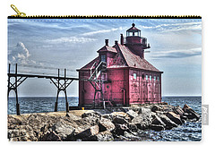 Carry-all Pouch featuring the photograph Sturgeon Bay Ship Canal by Deborah Klubertanz