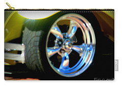 Carry-all Pouch featuring the photograph Stylin' Wheels by Bobbee Rickard