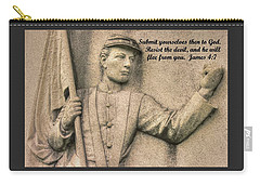 Submit Yourselves Then To God - Resist The Devil And He Will Flee From You - James 4.7 Carry-all Pouch