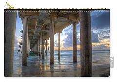 Subtle Pier Sunset Carry-all Pouch