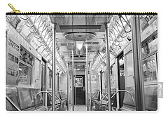 New York City - Subway Car Carry-all Pouch