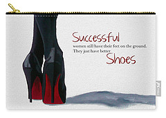 Successful Woman Carry-all Pouch by Rebecca Jenkins