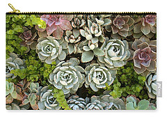 Succulent Garden 1 Carry-all Pouch