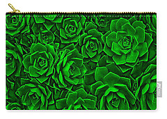Succulent Green Carry-all Pouch