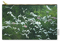 Carry-all Pouch featuring the photograph Sudden Flight by Lizi Beard-Ward