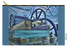 Carry-all Pouch featuring the mixed media Sugar Mill Gizmo by Deborah Boyd