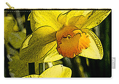 Sumi-e In Yellow Carry-all Pouch