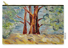 Carry-all Pouch featuring the painting Summer Afternoon by Maria Langgle