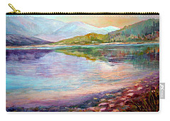 Carry-all Pouch featuring the painting Summer Afternoon by Sher Nasser