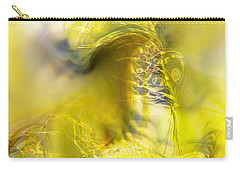 Carry-all Pouch featuring the digital art Summer Barley by Richard Thomas