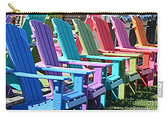Summer Beach Chairs Carry-all Pouch