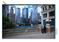 Summer Breeze On The Chicago River - Color Carry-all Pouch