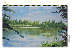 Summer By The River Carry-all Pouch