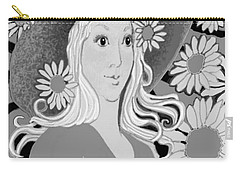 Carry-all Pouch featuring the digital art Summer by Carol Jacobs