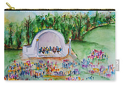 Summer Concert In The Park Carry-all Pouch