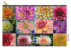 Summer Time Dahlias Carry-all Pouch