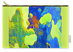 Summer Eucalypt Abstract 14 Carry-all Pouch