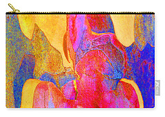 Summer Eucalypt Abstract 24 Carry-all Pouch