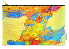 Summer Eucalypt Abstract 25 Carry-all Pouch
