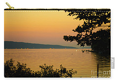Summer Evening On Cayuga Lake Carry-all Pouch