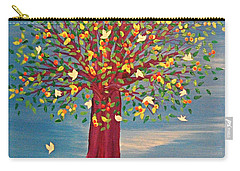 Summer Fantasy Tree Carry-all Pouch by First Star Art