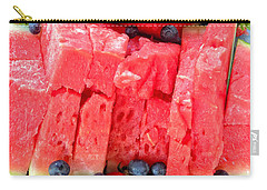 Summer Fruit Carry-all Pouch by Sami Martin