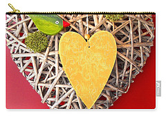 Carry-all Pouch featuring the photograph Summer Heart by Juergen Weiss