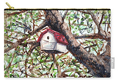 Carry-all Pouch featuring the painting Summer Home by Shana Rowe Jackson