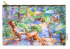 Summer In An Irish Garden  Carry-all Pouch