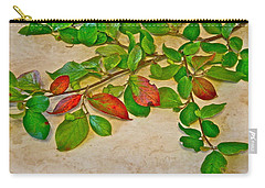 Carry-all Pouch featuring the photograph Summer Leaves by Johanna Bruwer