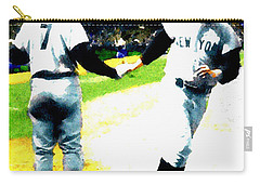 Summer Of The Gods  Iv 1961 Mickey Mantle Carry-all Pouch by Iconic Images Art Gallery David Pucciarelli
