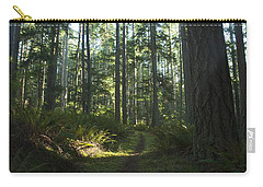 Summer Pacific Northwest Forest Carry-all Pouch