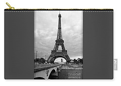 Summer Storm Over The Eiffel Tower Carry-all Pouch
