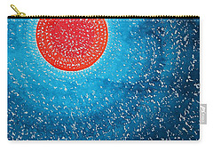 Summer Sun Original Painting Carry-all Pouch