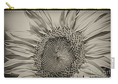 Carry-all Pouch featuring the photograph Summer Sunflower by Wilma  Birdwell