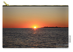 Carry-all Pouch featuring the photograph Summer Sunset by John Telfer