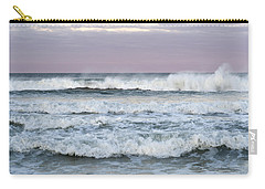 Summer Waves Seaside New Jersey Carry-all Pouch by Terry DeLuco