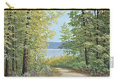 Summer Woods Carry-all Pouch